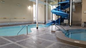 Toboggan aquatique