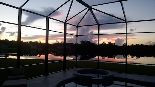 Central Florida Lake Home