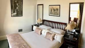 Premium bedding, blackout drapes, iron/ironing board, free WiFi