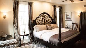 Egyptian cotton sheets, premium bedding, down comforters, pillowtop beds