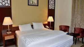 1 makuuhuone, silitysrauta/-lauta, ilmainen Wi-Fi