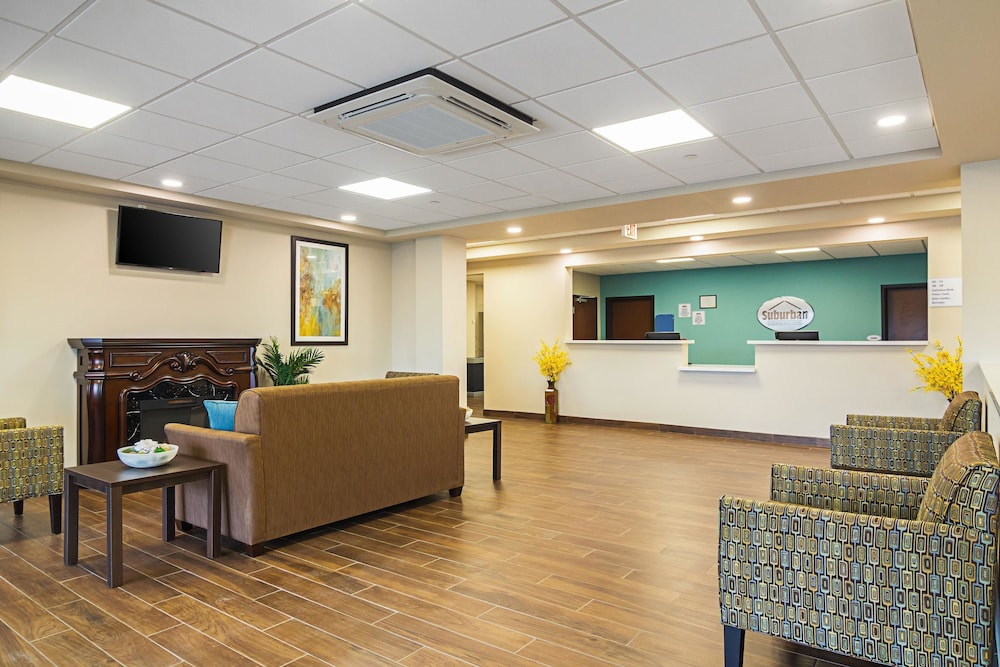 Lobby, Suburban Extended Stay Hotel