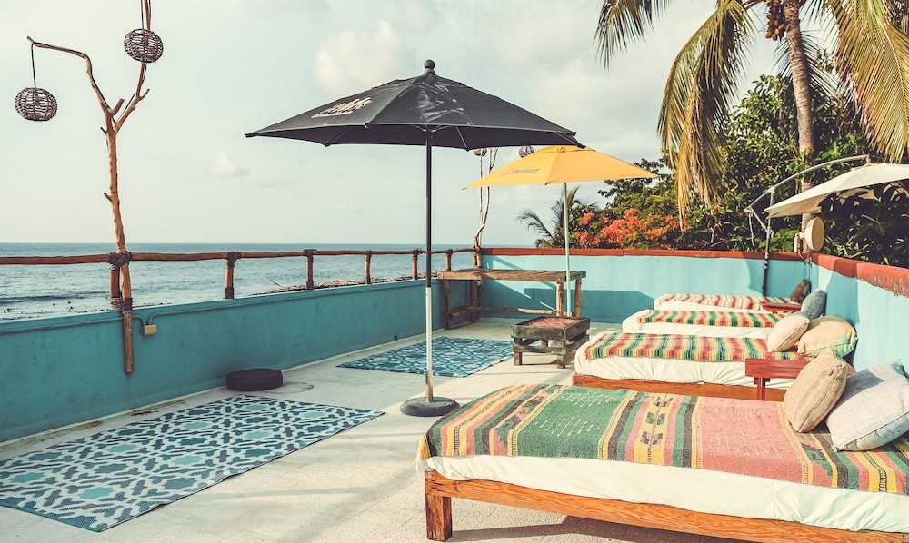 Rooftop terrace, Hotel Peix Sayulita & Beach Club