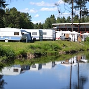 Parking pour camping-cars