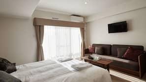 窗簾、免費 Wi-Fi、床單、方便輪椅出入