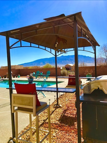Check Expedia for Availability of Beautiful B & B, With In-ground Pool & Gorgeous Views of the Sandia Mountains