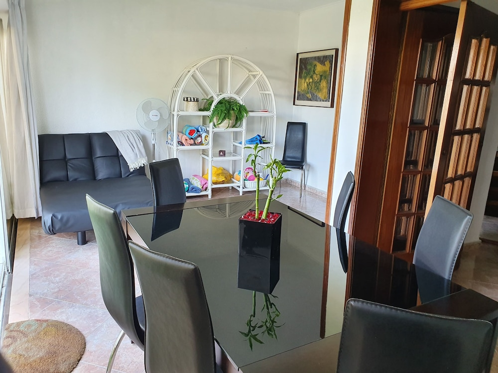 Living Room, Villa Marisol in Gated Community w / Pools and Garden 4km From the Beaches