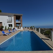 Villa With Stunning Panoramic Views to the Sea, Privacy and Swimming Pool