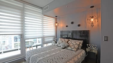 Downtown Luxury Condo Professionally Furnished and Decorated