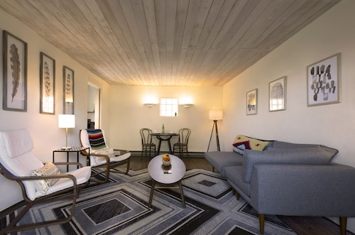 Great Place to stay 6 Blocks to Plaza: Stylish South Capitol Stay With Private Outdoor Patio near Santa Fe