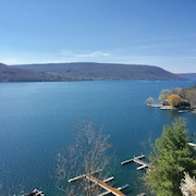Canandaigua Lake Condo Superior Views and Summer Relaxation in the Fingerlakes