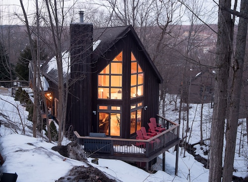 Check Expedia for Availability of Modern Holimont Ski In/out Chalet In The Trees