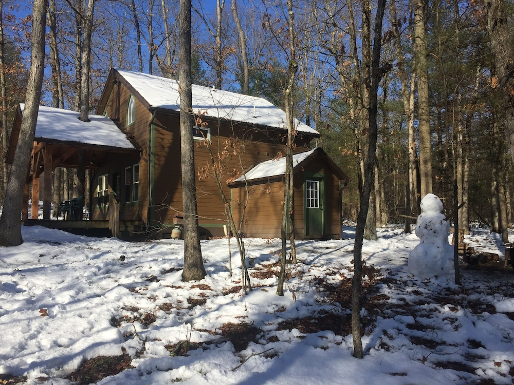 , Timber Frame Cabin Located Nextt to the Clarion River & North Country Trail