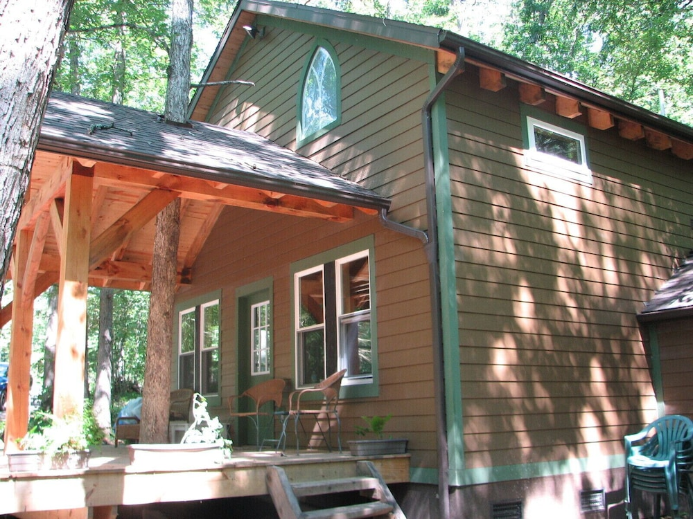 Exterior, Timber Frame Cabin Located Nextt to the Clarion River & North Country Trail