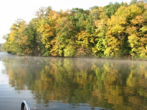 Lake, Timber Frame Cabin Located Nextt to the Clarion River & North Country Trail