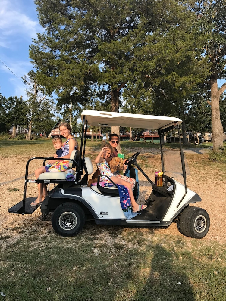 Golf Cart, Calm Waters Cabin Resort