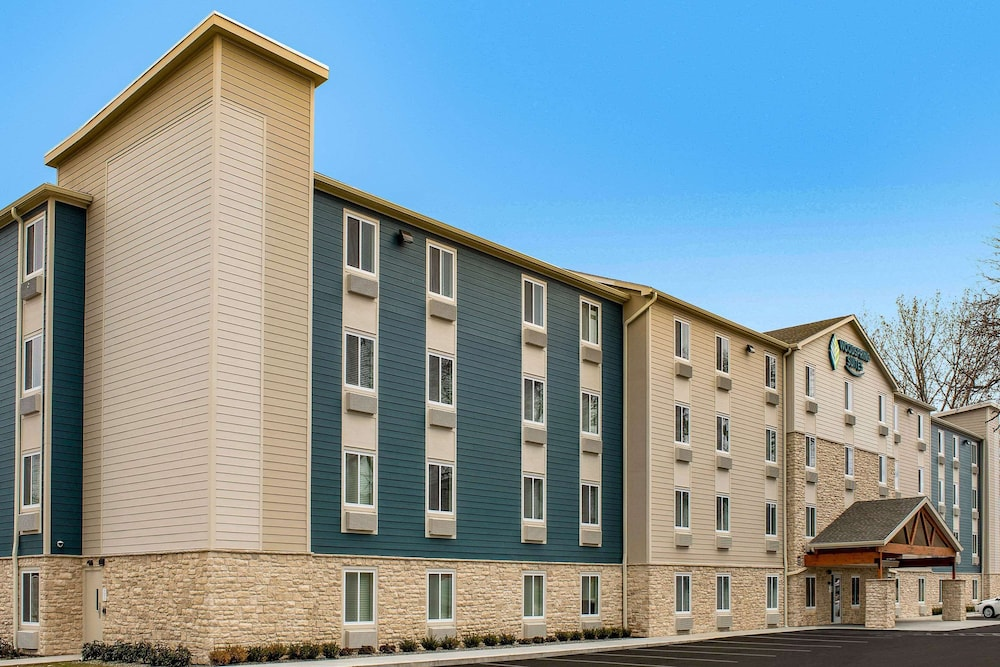 Exterior, WoodSpring Suites Providence