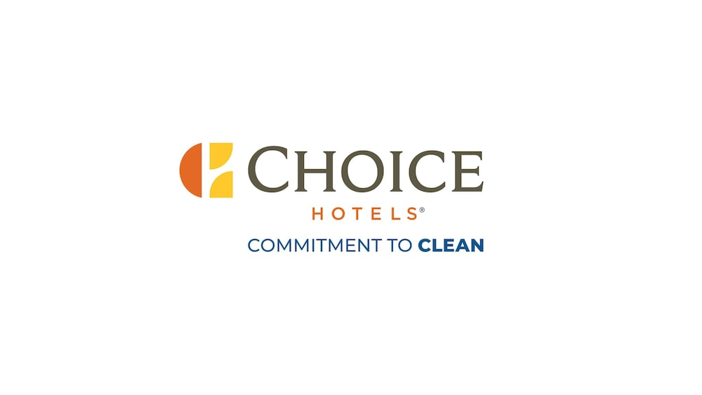 Cleanliness badge, WoodSpring Suites Providence