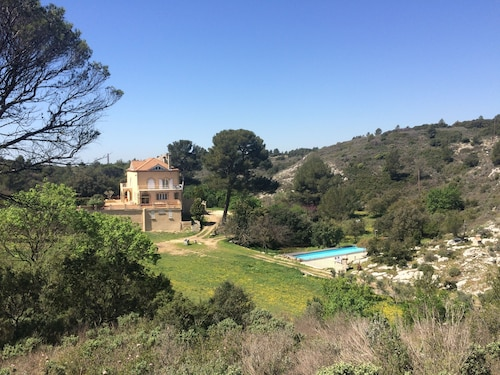 Unique: Manor With Pool Between Aix and Marseille
