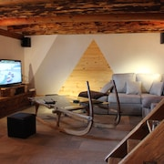 Chalet 1785 sqm and Sauna Classified in the Local Heritage in Aravis 4