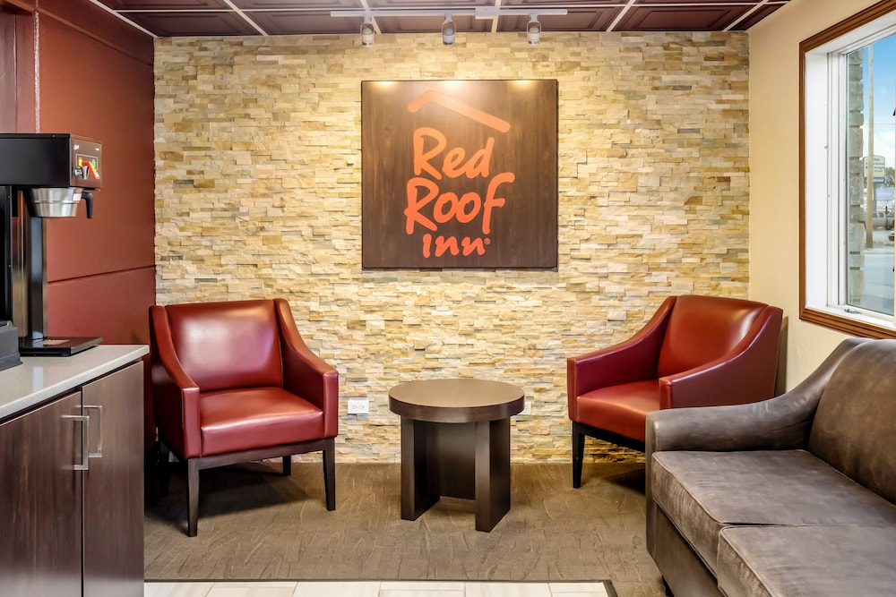 Lobby, Red Roof Inn Chicago - Alsip