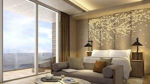 1 bedroom, pillow top beds, minibar, in-room safe