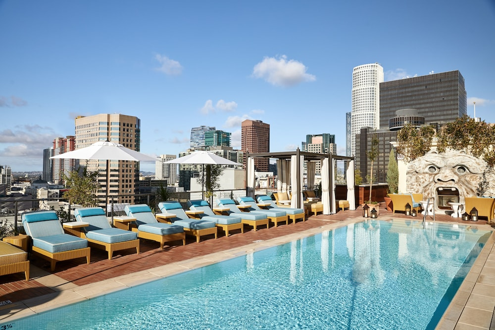 Rooftop Pool, The NoMad Hotel Los Angeles