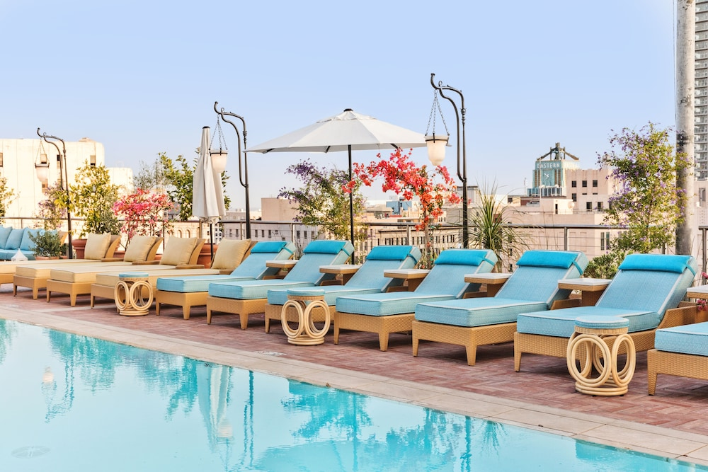 Outdoor Pool, The NoMad Hotel Los Angeles