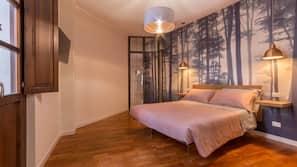 1 camera, biancheria da letto di alta qualità, copriletto in piuma