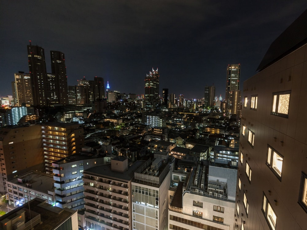 View from Property, APA Hotel & Resort Nishishinjuku Gochome Eki Tower