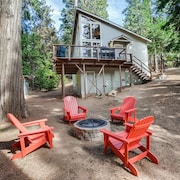 Sweet Retreat: Private Lake Access! Ski Dodge/ Swim Pinecrest