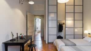 2 slaapkamers, een strijkplank/strijkijzer, babybedden, gratis wifi