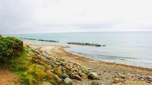 Nær stranden