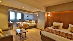 Ropa de cama de alta calidad, minibar, wifi gratis y ropa de cama