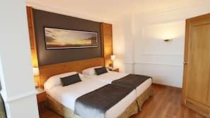Ropa de cama de alta calidad, minibar, escritorio y wifi gratis