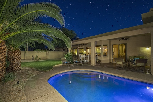Check Expedia for Availability of Scottsdale Oasis! - Free Heated Pool!! Entertainers Dream, Palm Trees, Sunsets