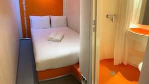 Ljudisolering, gratis wi-fi och sängkläder