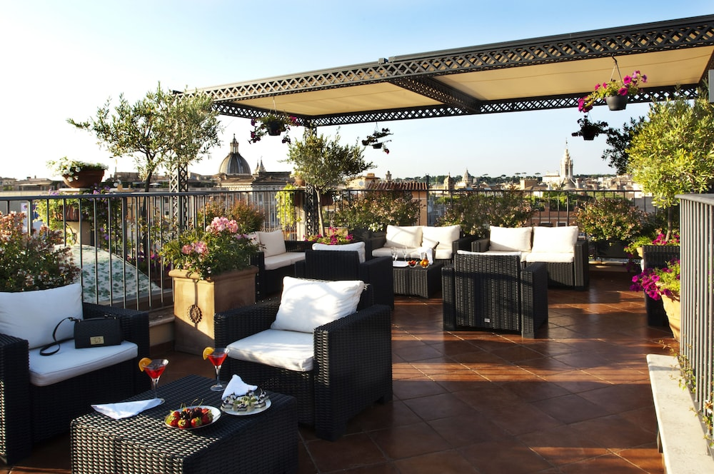 Terrace/Patio, Boutique Hotel Campo dé Fiori