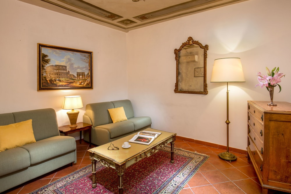 Living Area, Boutique Hotel Campo dé Fiori