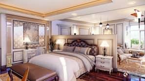 1 bedroom, premium bedding, down duvets, memory-foam beds