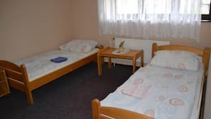 Blackout drapes, iron/ironing board, cribs/infant beds, free WiFi