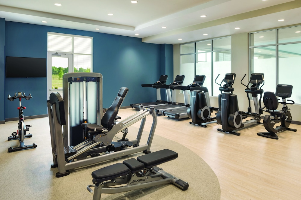 Fitness Facility, Embassy Suites by Hilton Noblesville Indianapolis Convention Center