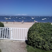 Arcachon Pereire Apartment 6 Pers. Beachfront With Direct Beach Access