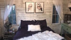 1 dormitorio, conexión a Internet, ropa de cama