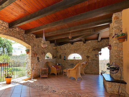 House 723 m From the Center of Cinisi With Internet, Pool, Air Conditioning, Parking