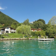 Exceptional 5-star Villa on Lake Annecy for 10 People