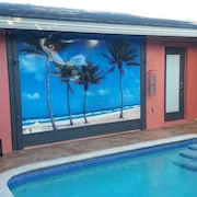 Private Resort Just FOR You- Cold A/c- King Bed- Huge Heated Pool