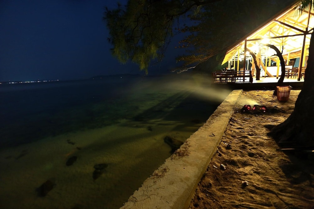 Front of Property - Evening/Night, Coconut Island Resort Ngapali