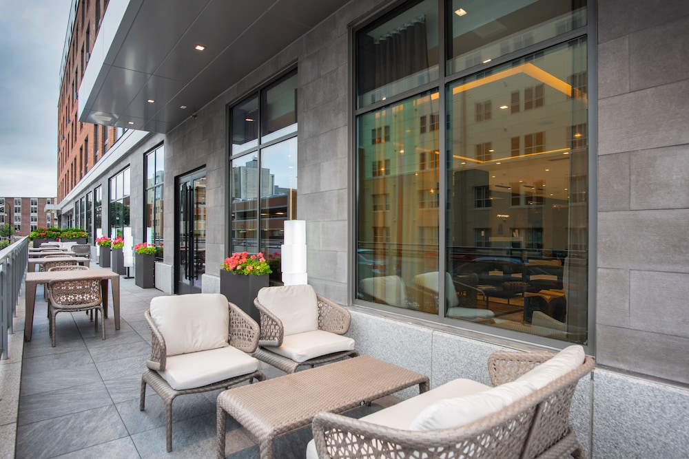 Terrace/Patio, AC Hotel by Marriott Worcester