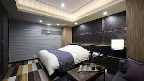 Minibar, blackout drapes, rollaway beds, free WiFi